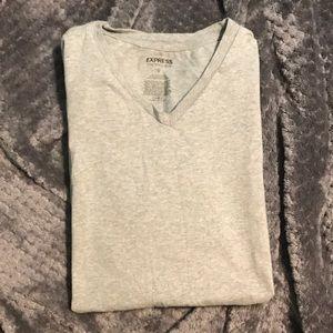 EXPRESS gray t-shirt